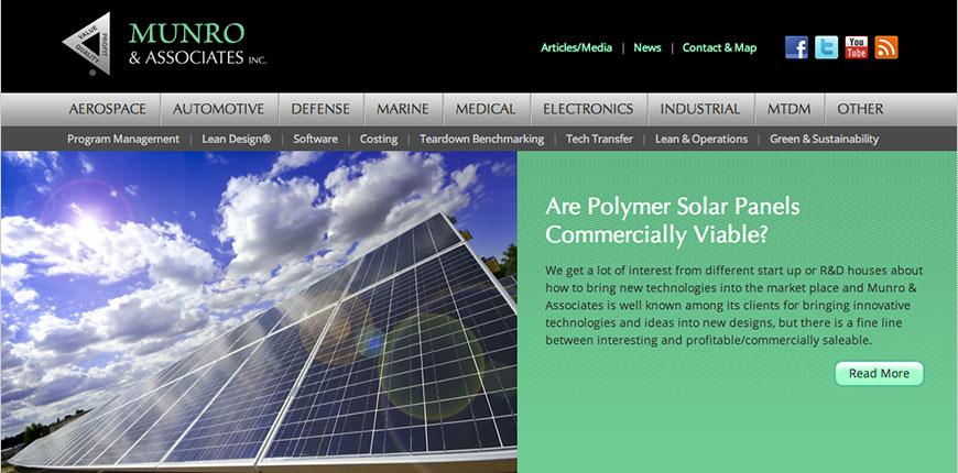 Munro & Associates, Inc. site